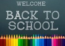 back to school chalk board