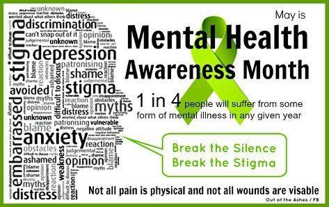 May 2017 Resources Mental Health Awareness Month