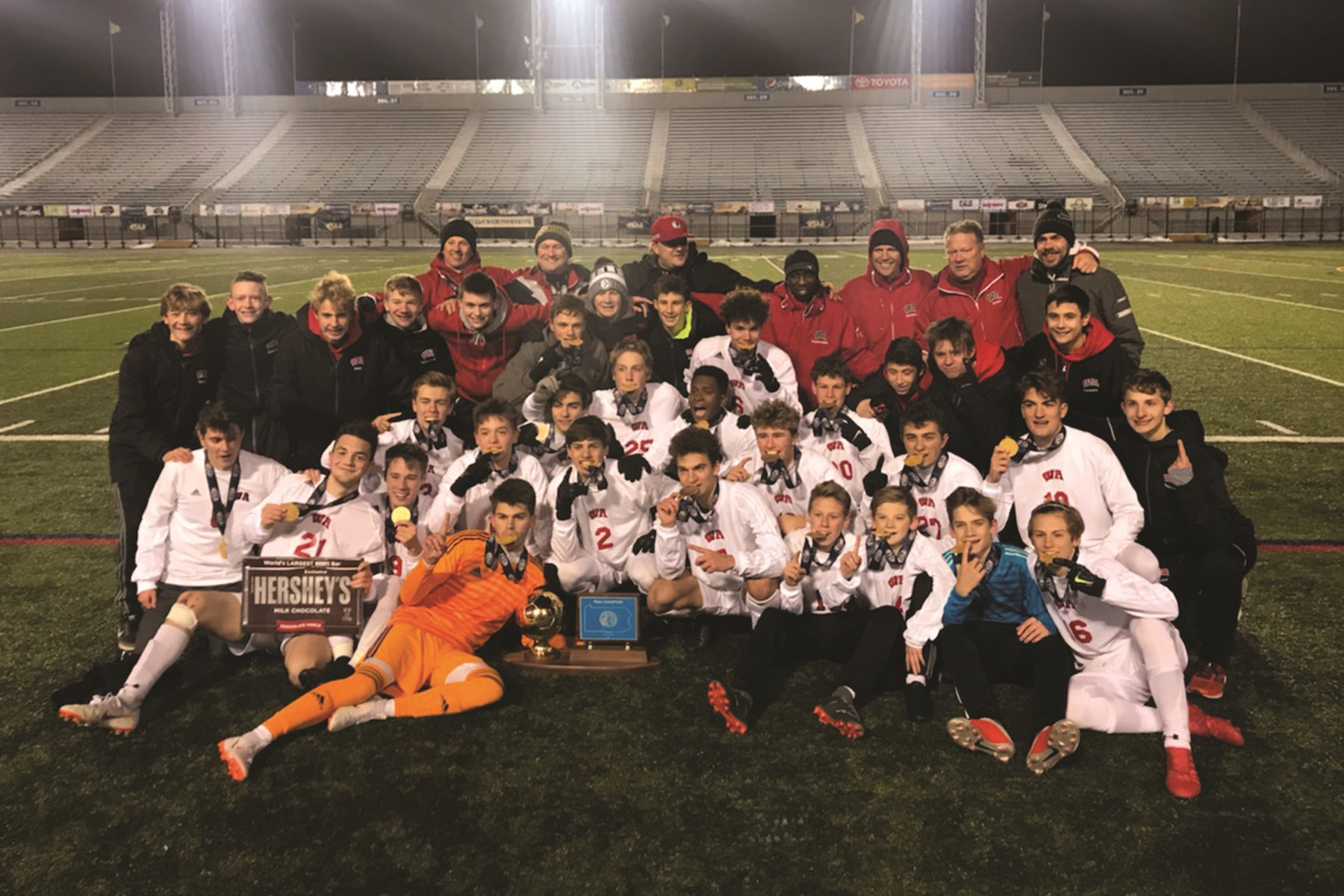 Boys soccer state title