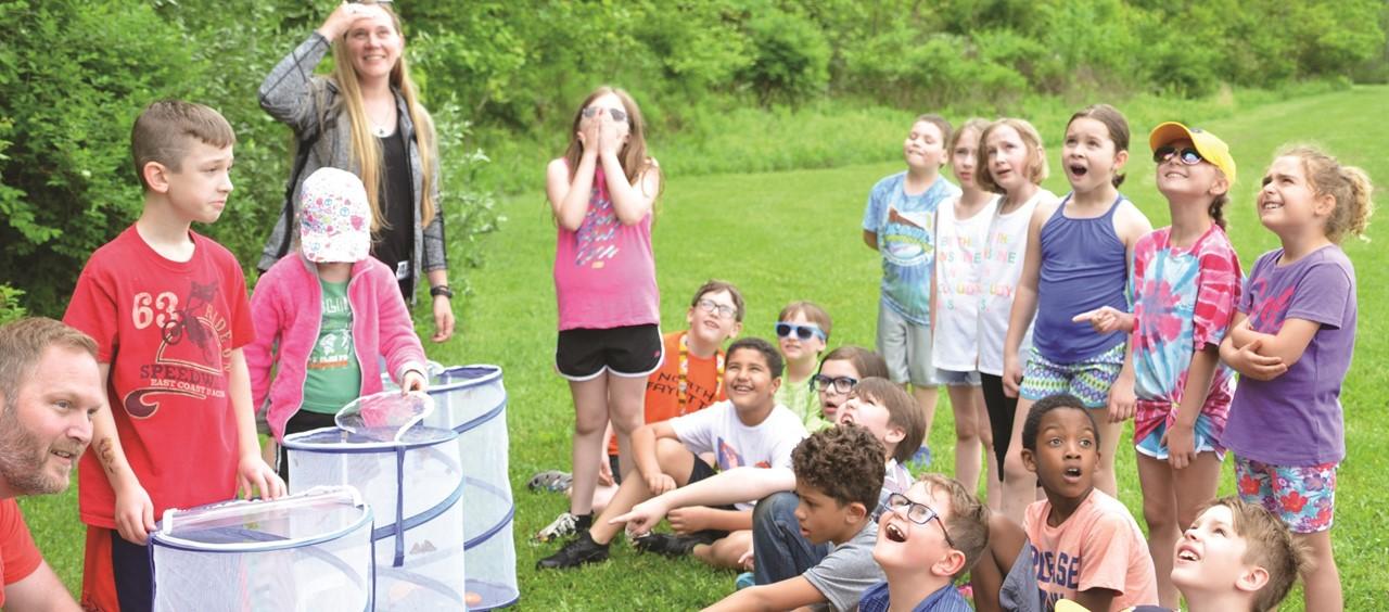 McKee students release butterflies
