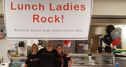 Cafeteria workers recognized