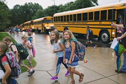 mckee students first day